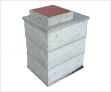 Vodomerná šachta betonová cena
